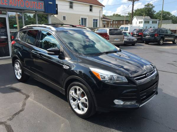2013 FORD ESCAPE TITANIUM AWD---CLEAN CARFAX!!!-LOADED!!!