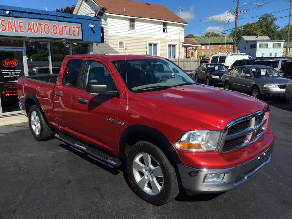 2009 DODGE RAM 1500 QUAD CAB SLT---390 HP HEMI!!!-CLEAN CARFAX!!!