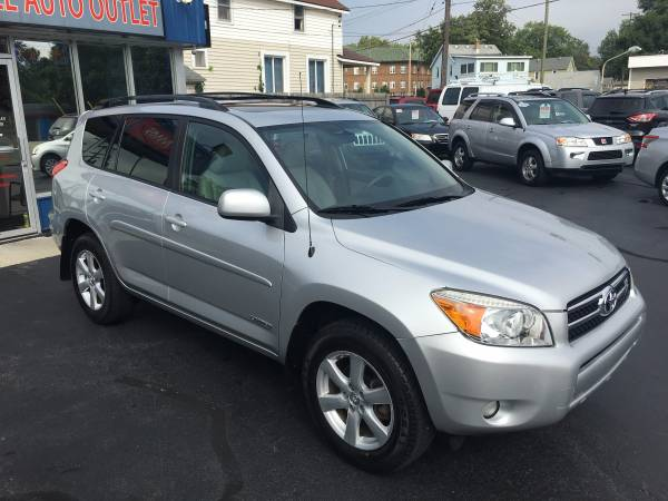 2007 TOYOTA RAV4 LIMITED 4WD---CARFAX ONE OWNER!-LOADED!