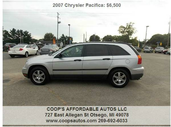 2007 CHRYSLER PACIFICA AWD! FINANCING AVAILABLE!!