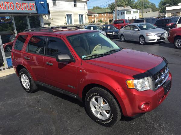 2008 FORD ESCAPE XLT 4X4---ONLY 73,000 MILES!!!-LOADED!!!