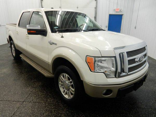 2009 *Ford* *F-150* *F 150* *F150* King-Ranch SuperCrew 5.5-ft. Bed 4W
