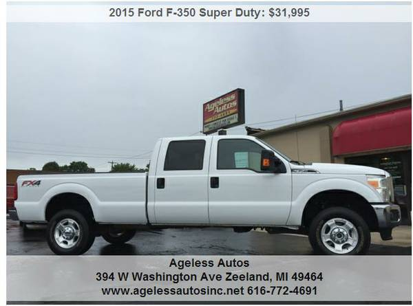 2015 Ford F350 Super Duty Crew Cab 4x4 19k