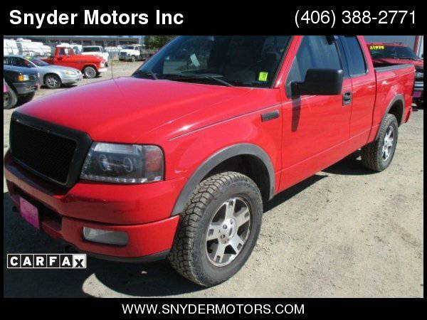 2004 Ford F-150 Supercab Fx4 Priced at Wholesale New Tires Runs Great
