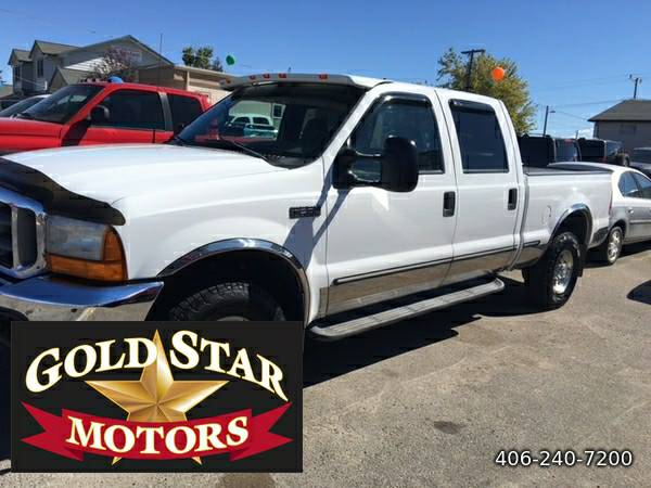 1999 FORD F-250 SD 4X4 CREW CAB 7.3 POWERSTROKE- EXCELLENT CONDITION