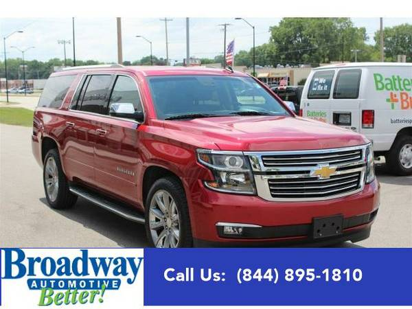 2015 *Chevrolet Suburban* LTZ Green Bay