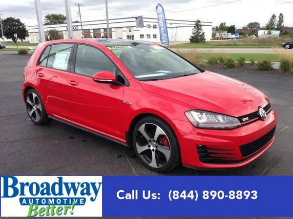 2015 *Volkswagen Golf GTI* Autobahn Green Bay