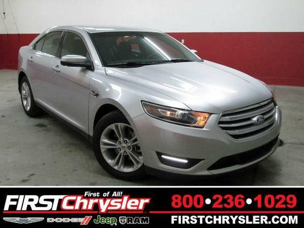 2015 *Ford Taurus* SEL - Ford Ingot Silver Metallic