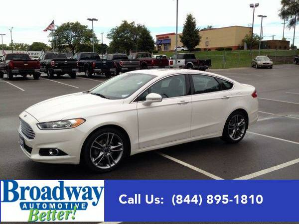 2013 *Ford Fusion* Titanium Green Bay