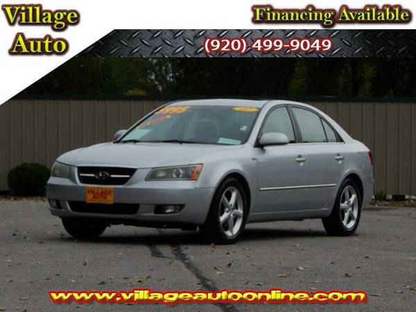 2007 *Hyundai Sonata* Limited *One Owner* - Silver-TRADE INS WELCOME!