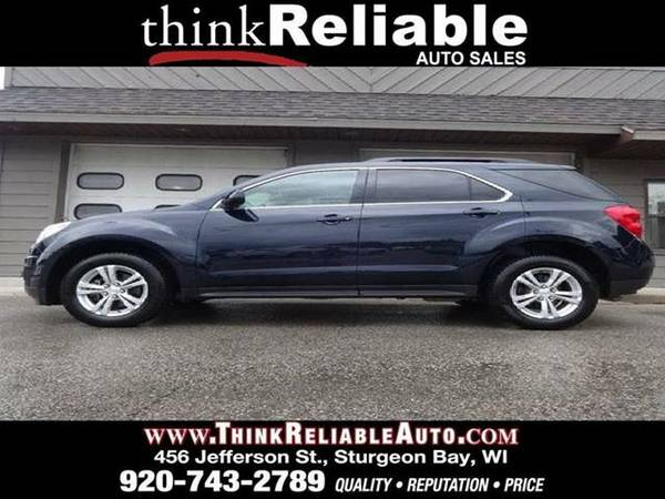 2015 CHEVROLET EQUINOX LT AWD 1-OWNER BLUE VELVET MET CAMERA REM START