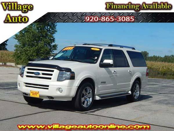 2007 *Ford Expedition* LIMITED EL *4X4* WITH DVD - Ford White
