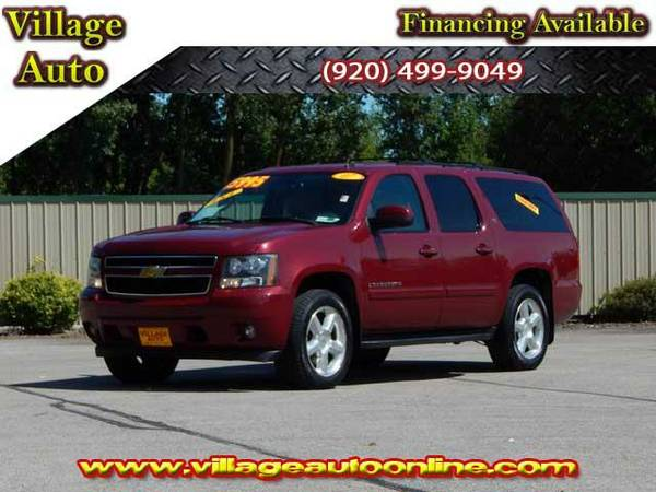 2007 *Chevrolet Suburban* LTZ 4x4 - Maroon-TRADE INS WELCOME!