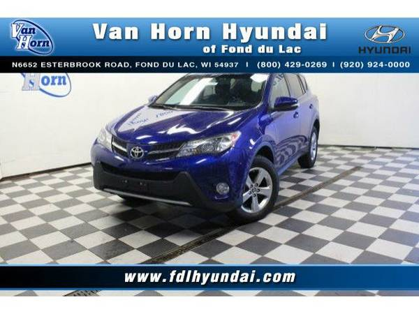 2015 *Toyota RAV4* AWD XLE - Toyota-Financing for Everyone
