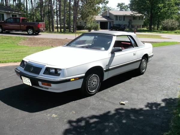 1992 Chrysler LeBaron Convertible