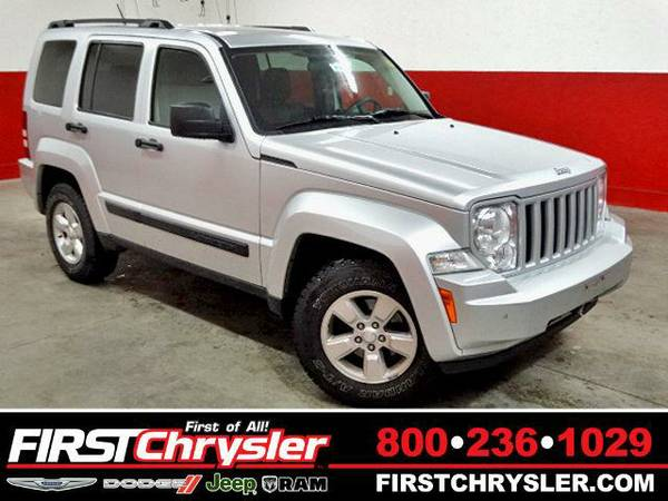 2009 *Jeep Liberty* Sport 4X4 - Jeep Bright Silver Metallic Clearcoat