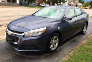 2014 CHEVY MALIBU LT w/1LT (47K Miles/36 Hwy Mpgs/Beautiful/Warranty!)