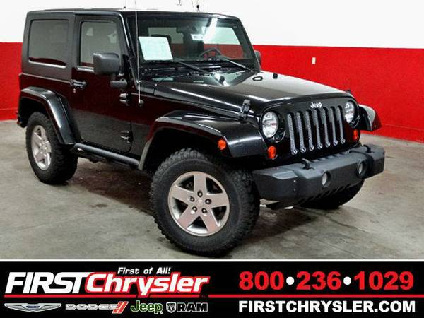 2009 *Jeep Wrangler* X - Jeep Black Clearcoat/Black Hard Top
