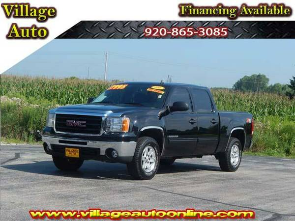 2009 *GMC Sierra 1500* SLE Crew Cab Shortbox Z71 *4x4* One-Owner -...