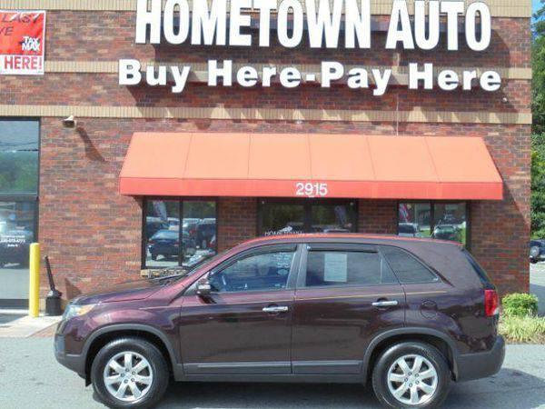 2012 *Kia* *Sorento* LX 4dr SUV ~ $199 Down! Hometown Auto & Credi