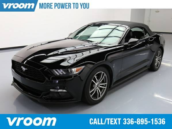 2015 Ford Mustang EcoBoost Premium Convertible 7 DAY RETURN / 3000 CAR