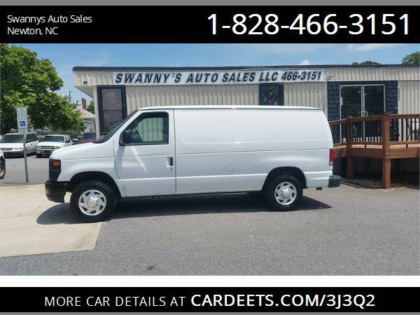 2014 FORD ECONOLINE E150 4.6L V8 126K MILES 1 OWNER WORK READY