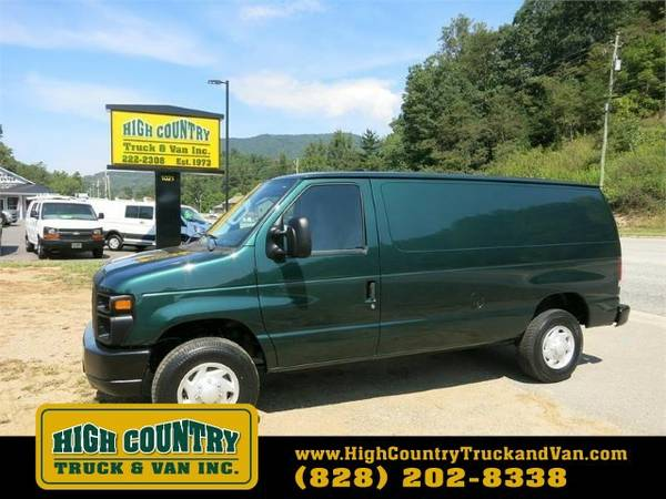 2009 Ford E350 SD CARGO VAN