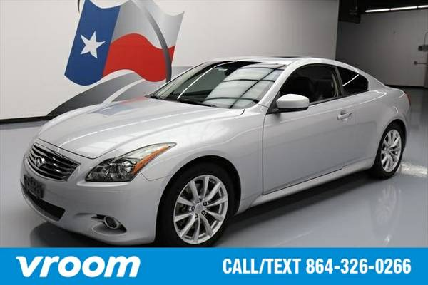 2012 Infiniti G37 2dr Coupe Coupe 7 DAY RETURN / 3000 CARS IN STOCK