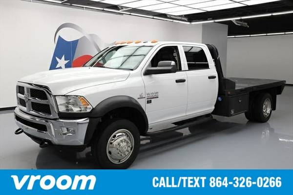 2014 RAM 4500 HD Chassis 4dr Crew Cab 4WD DRW (6.7L 6cyl ) Truck 7 DAY