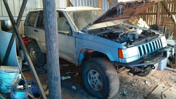 92 model jeep trail rig