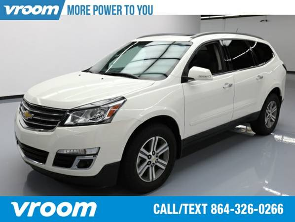 2015 Chevrolet Traverse LT SUV 7 DAY RETURN / 3000 CARS IN STOCK