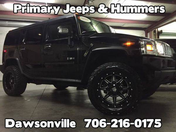 2008 *Hummer* *H2* Luxury 4x4 -IN HOUSE FINANCE-FREE SHIPPING-WARRANTY