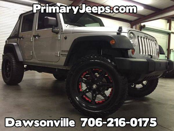 2012 *Jeep* *Wrangler* Unlimited Sport 4x4 -IN HOUSE FINANCE-FREE SHIP