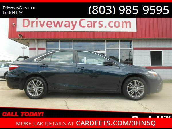 2015 TOYOTA CAMRY SE, WE FINANCE