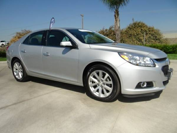 Certified: 2016 Chevrolet Malibu Limited 4D Sedan LTZ