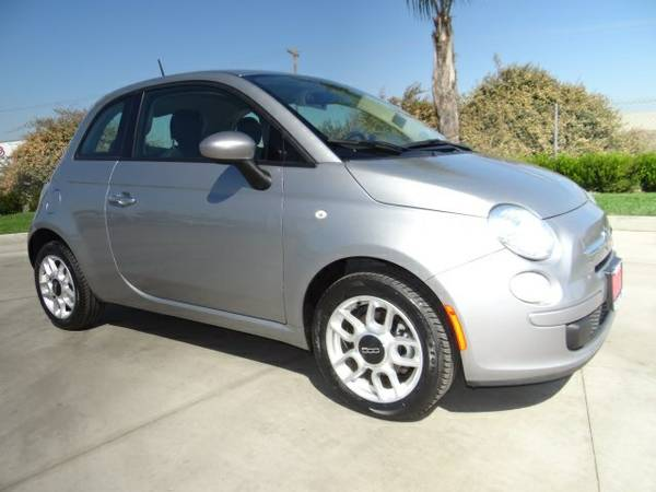 Stock 7242R 2015 Fiat 500 2D Hatchback