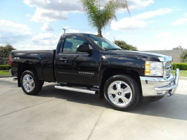 2013 Chevrolet Silverado 1500 2D Standard Cab LT only 12,341 miles