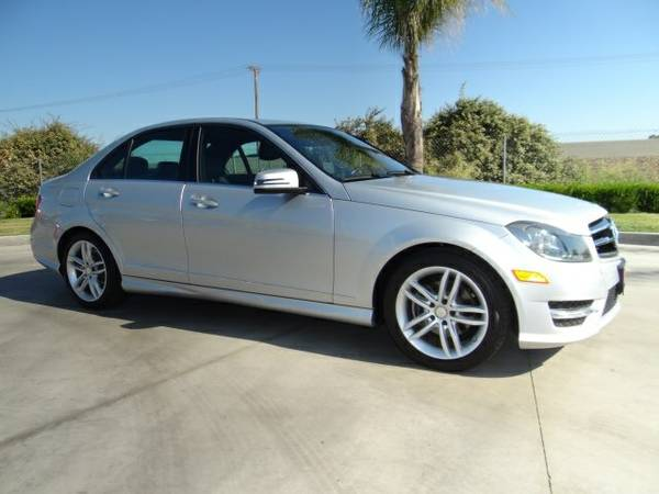 2014 Mercedes-Benz C-Class 4D Sedan C250