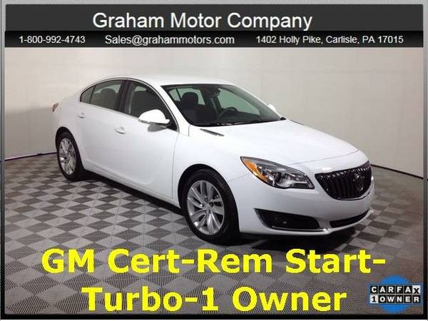 2016 *Buick Regal* Turbo/e-Assist Premium 1 (White)