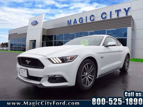2016 *Ford Mustang* GT Premium (White)