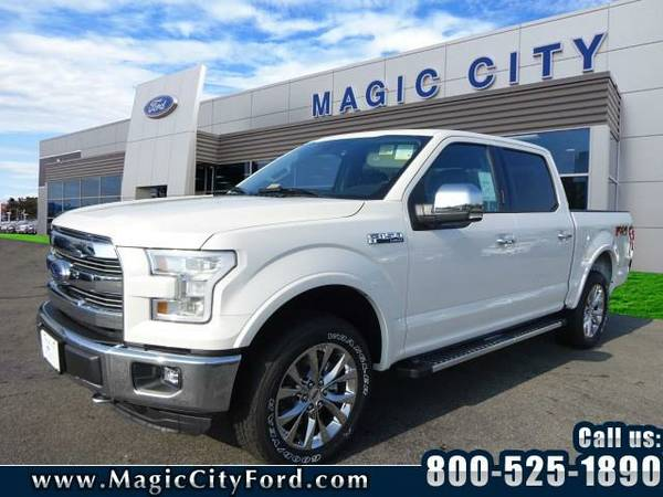 2016 *Ford F-150* Lariat (Off White)