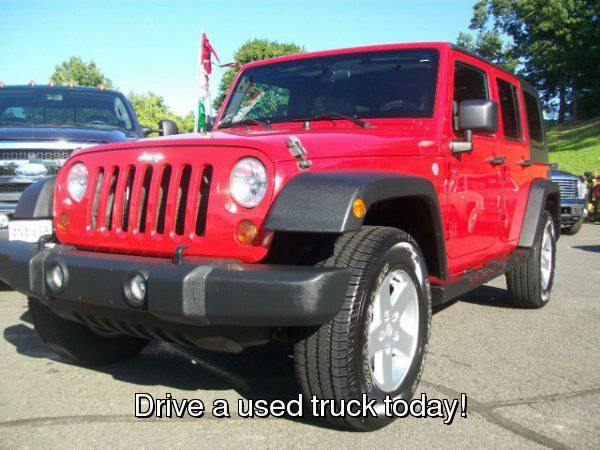 2010 Jeep Wrangler Unlimited 4WD 4dr Sport Financing Available