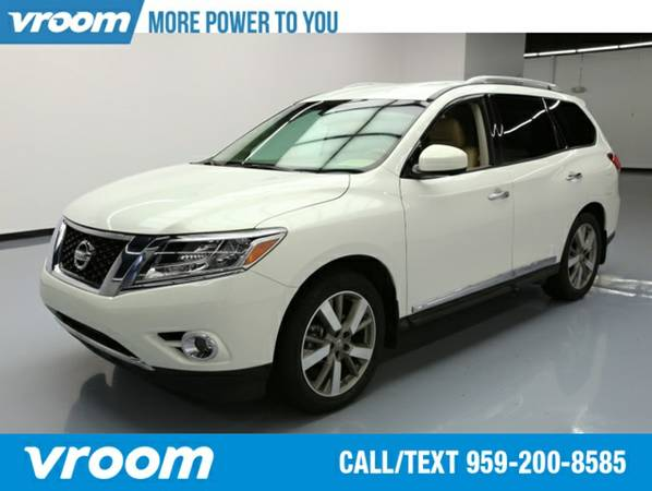 2014 Nissan Pathfinder Platinum SUV 7 DAY RETURN / 3000 CARS IN STOCK