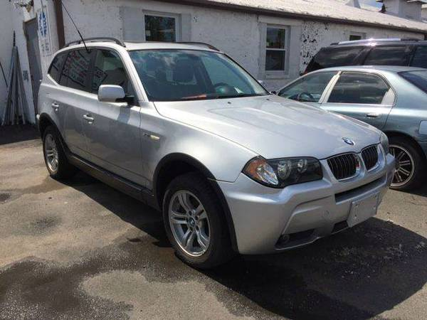 2006 *BMW X3 3.0I AWD SUV - *************DUAL SUN ROOFS LEATHER SILVER