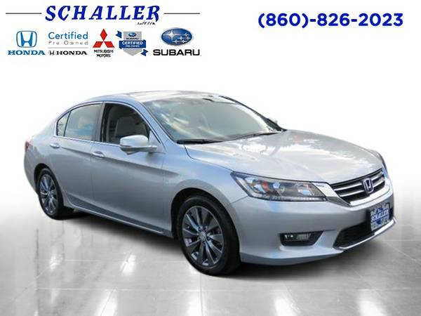 Certified: 2015 Stock PH16611 Honda Accord Sedan 4dr Car EX-L