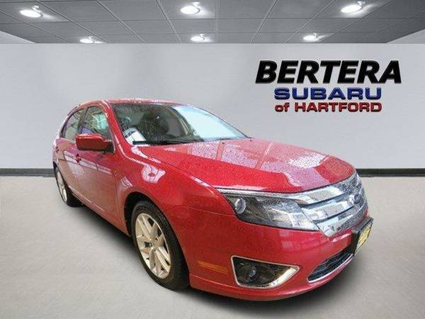 2010 *Ford Fusion* SEL (Red)