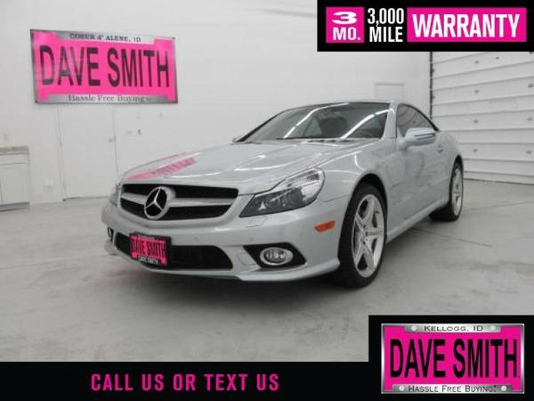 2009 Mercedes-Benz SL550 V8