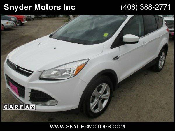 2013 Ford Escape SE AWD Ecoboost New Tires 4x4 SUPER CLEAN!