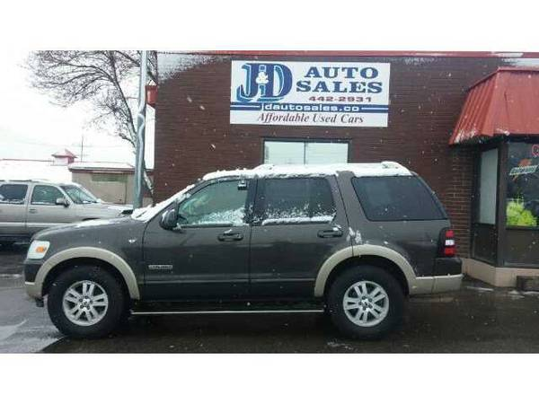 Beautiful Ford Explorer 4x4, loaded