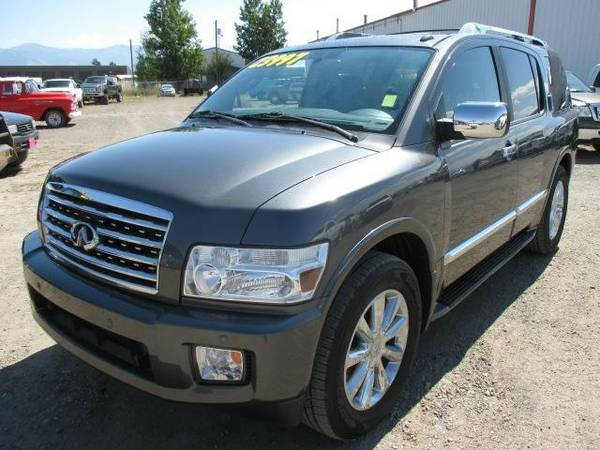 2010 Infiniti QX56 4x4 Super Clean New Tires DVD, NAV, Backup Camera